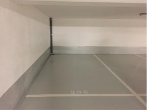 parking avec hauteur sous plafond à 2m