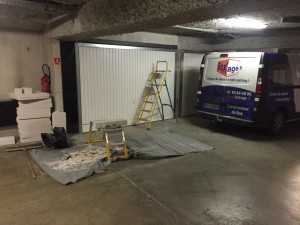 Box à Toulouse - en cours de chantier
